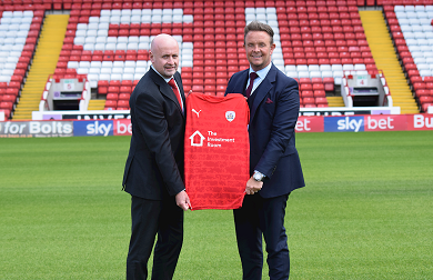 The Investment Room sign Shirt Sponsorship deal with The Reds! Image